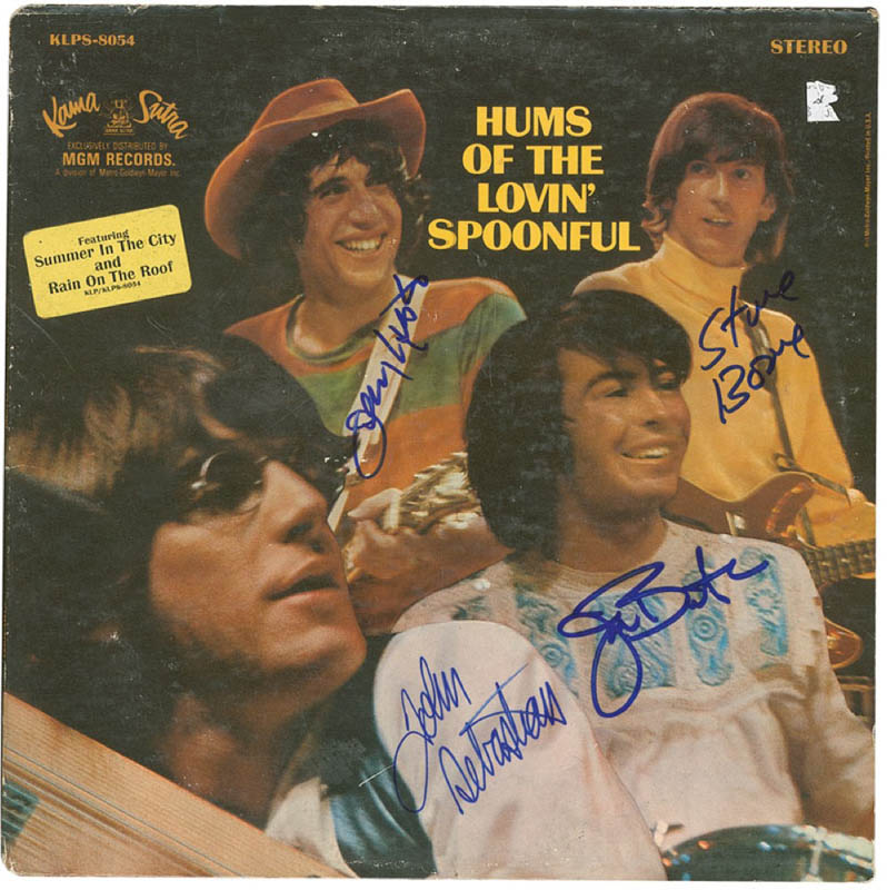 Image 1 for Lovin' Spoonful - Record Album Cover Signed with co-signers - HFSID 293362