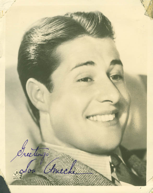 Image 1 for Don Ameche - Autographed Signed Photograph - HFSID 293411