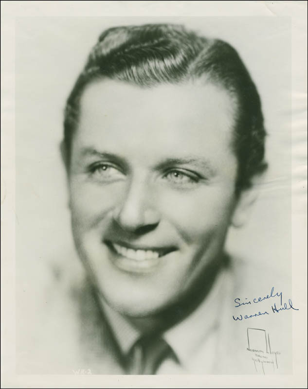 Image 1 for Warren Hull - Autographed Signed Photograph - HFSID 293414
