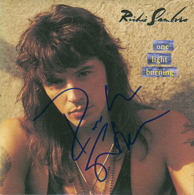 Image 1 for Bon Jovi (Richie Sambora) - Compact Disc Case Signed - HFSID 293802
