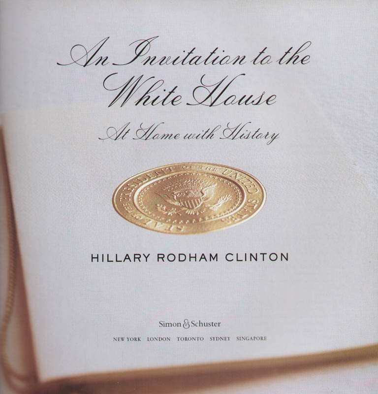 Image 4 for First Lady Hillary Rodham Clinton - Book Signed - HFSID 293862