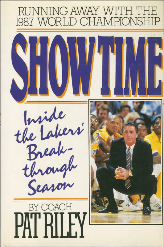 Image 3 for Pat Riley - Book Signed - HFSID 293881