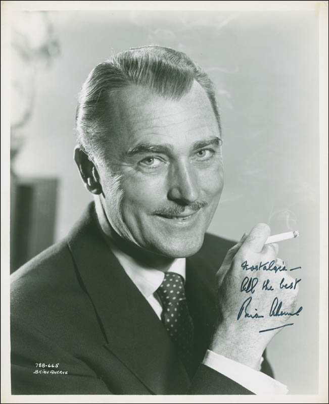Image 1 for Brian Aherne - Autographed Signed Photograph - HFSID 293968
