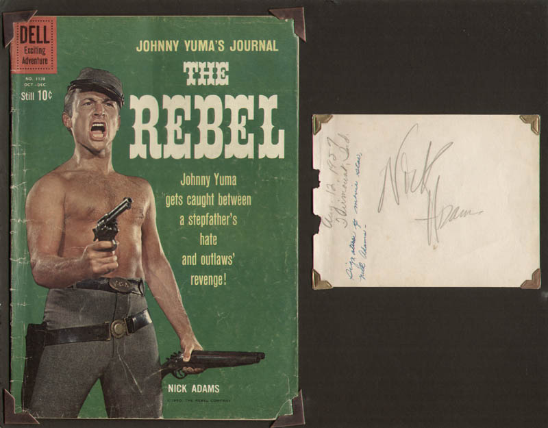 Image 1 for Nick 'The Rebel' Adams - Autograph - HFSID 294050