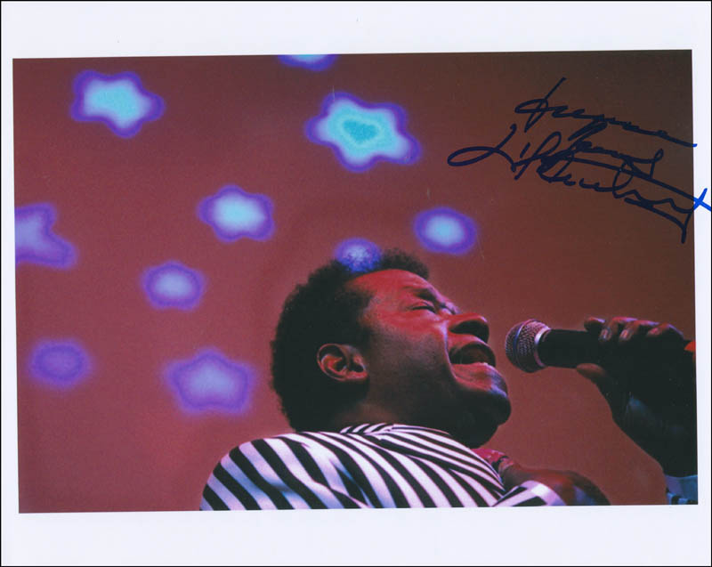 Image 1 for Little Anthony And The Imperials (Anthony Gourdine) - Autographed Signed Photograph - HFSID 294117
