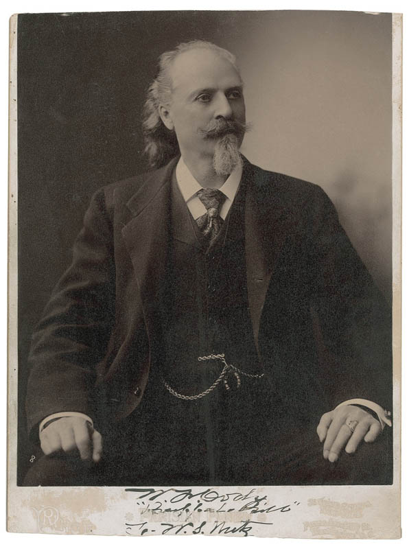 Image 1 for William F. 'Buffalo Bill' Cody - Inscribed Photograph Mount Signed - HFSID 294154