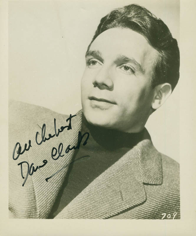 Image 1 for Dane Clark - Autographed Signed Photograph - HFSID 294194