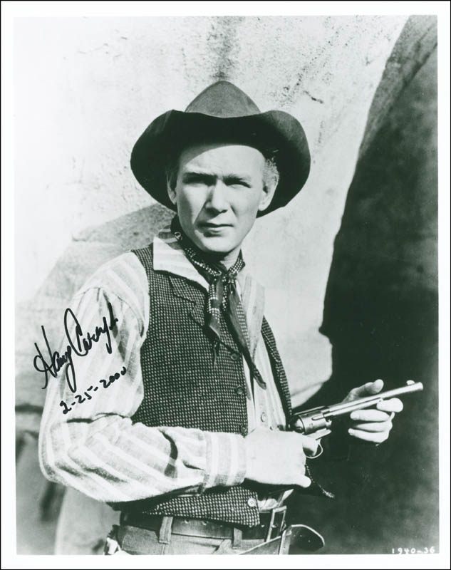 Image 1 for Harry Carey Jr. - Autographed Signed Photograph 02/25/2000 - HFSID 294251