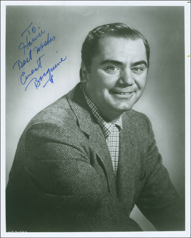 Image 1 for Ernest Borgnine - Autographed Inscribed Photograph - HFSID 294321