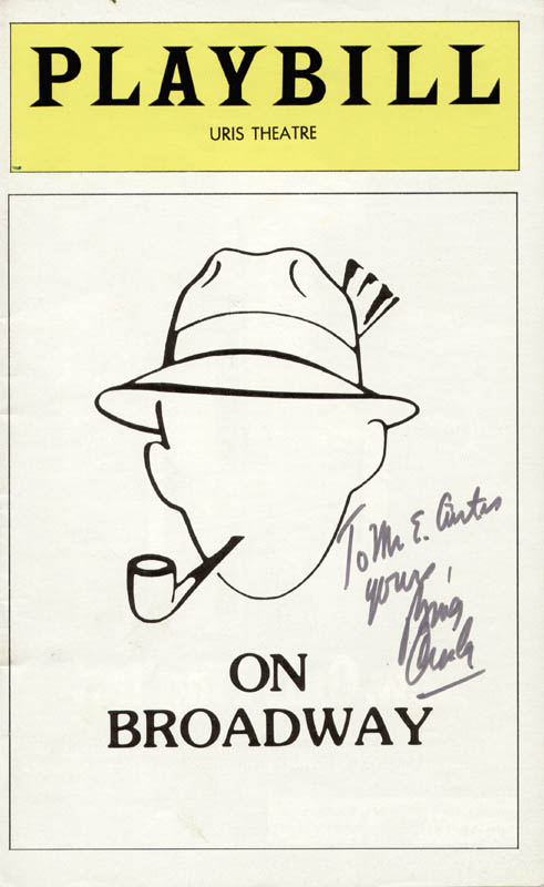 Image 1 for Bing Crosby - Inscribed Show Bill Signed - HFSID 29439
