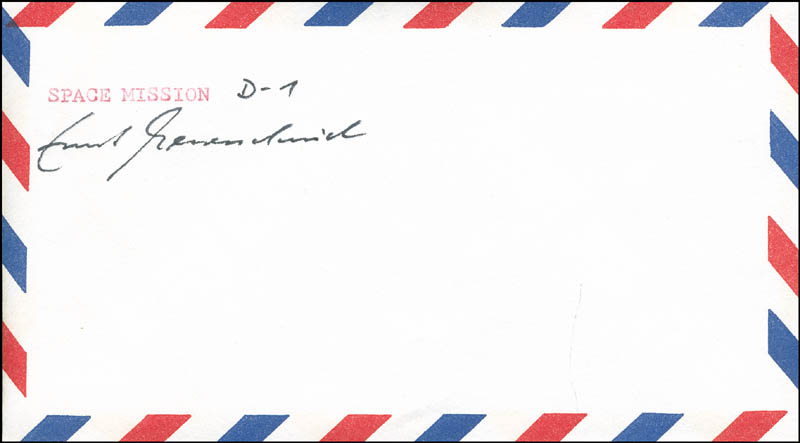 Image 1 for Ernst Messerschmid - Envelope Signed - HFSID 294455