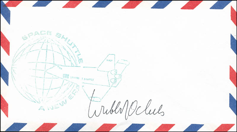 Image 1 for Wubbo Ockels - Envelope Signed - HFSID 294456