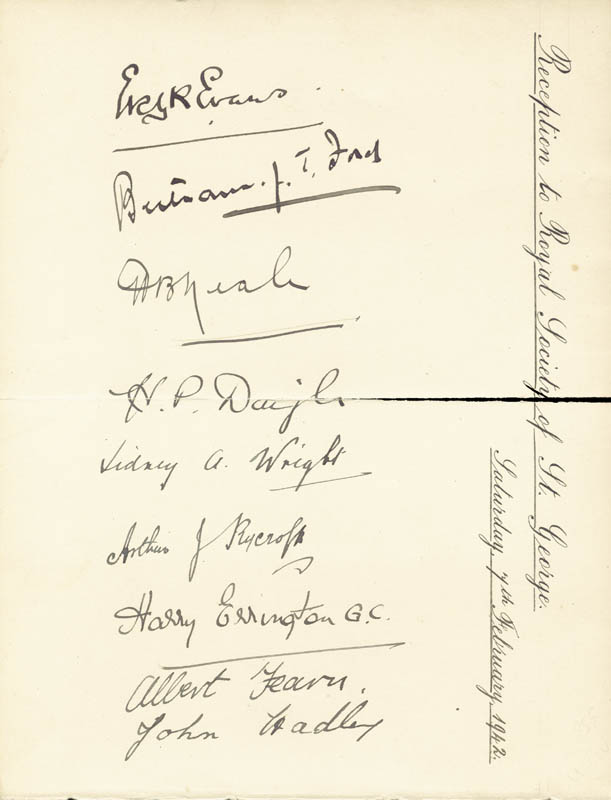 Image 3 for President Charles De Gaulle (France) - Autograph 02/07/1942 with co-signers - HFSID 29446