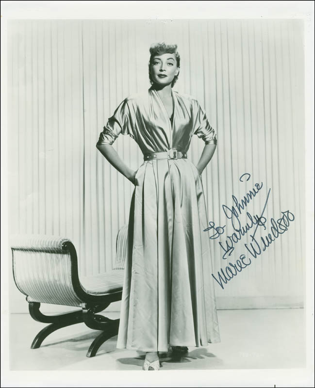 Image 1 for Marie Windsor - Autographed Inscribed Photograph - HFSID 294470