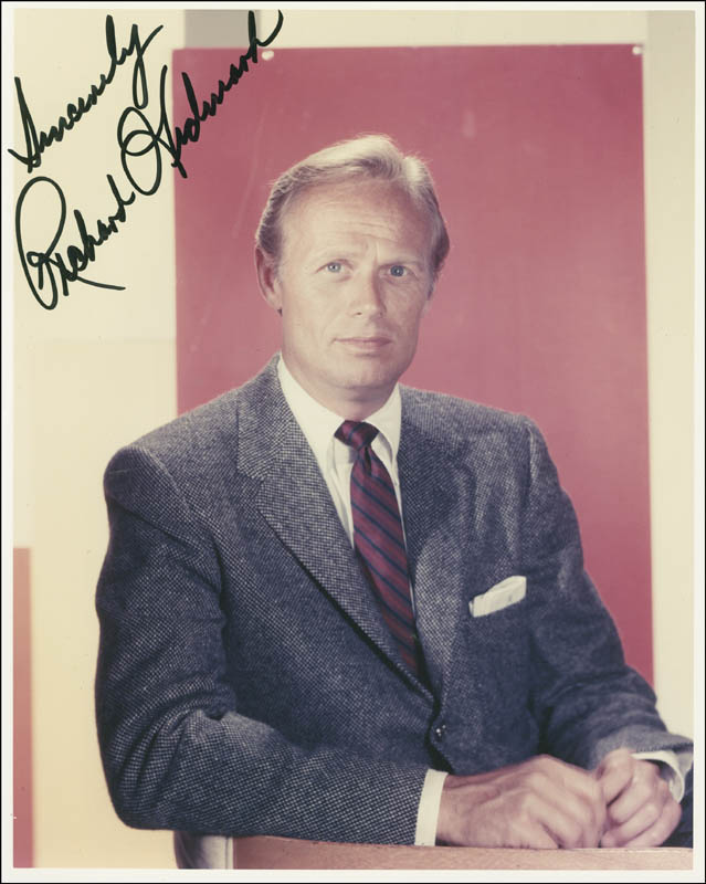 Image 1 for Richard Widmark - Autographed Signed Photograph - HFSID 294476