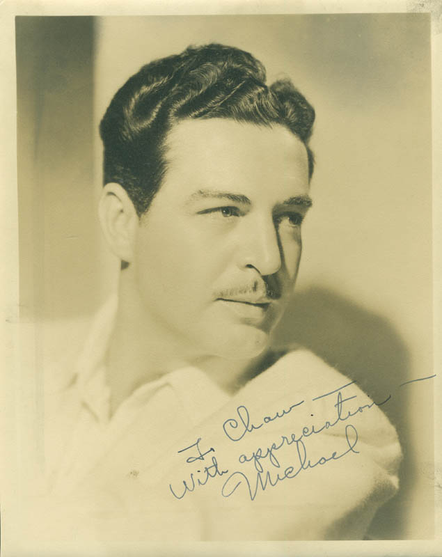 Image 1 for Michael Whalen - Autographed Inscribed Photograph - HFSID 294477