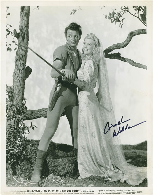 Image 1 for Cornel Wilde - Autographed Signed Photograph - HFSID 294478