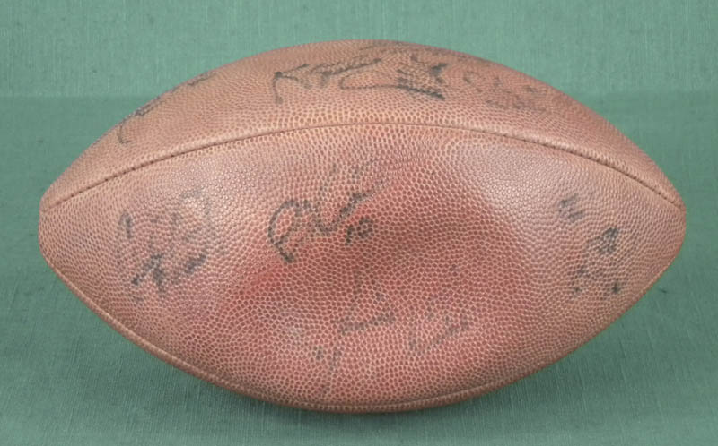 Image 3 for 1991 Black & Blue Shootout - Football Signed with co-signers - HFSID 294517