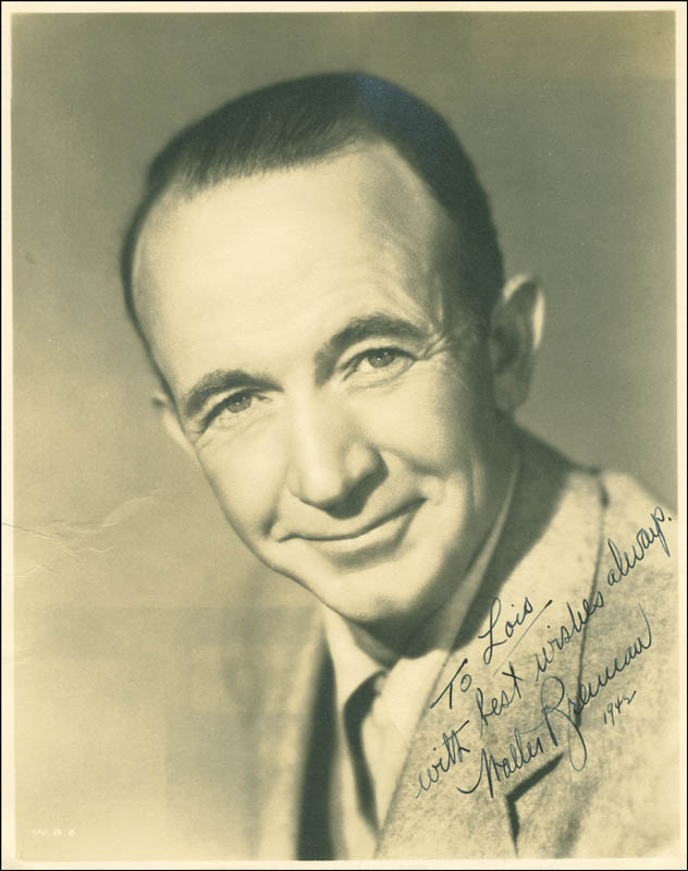 Image 1 for Walter Brennan - Autographed Inscribed Photograph 1942 - HFSID 294533