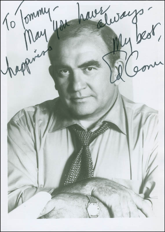 Image 1 for Ed Asner - Autographed Inscribed Photograph - HFSID 294639