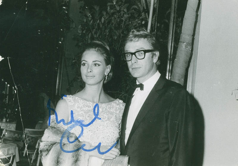 Image 1 for Michael Caine - Autographed Signed Photograph Circa 1975 - HFSID 294645