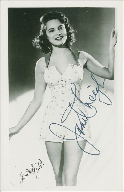 Image 1 for Janet Leigh - Autographed Signed Photograph - HFSID 294672