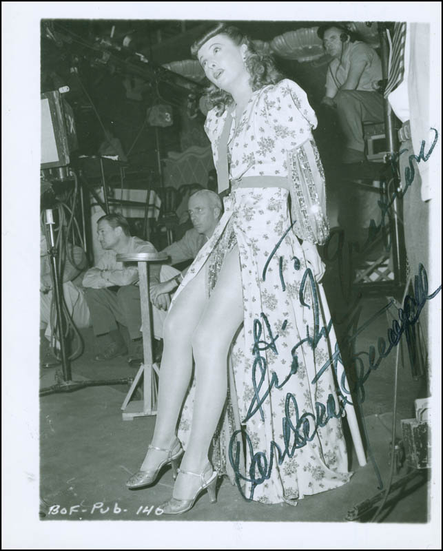 Image 1 for Barbara Stanwyck - Autographed Inscribed Photograph - HFSID 294708