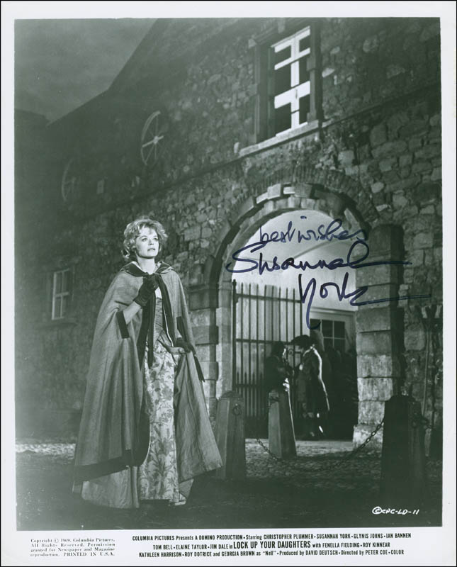 Image 1 for Susannah York - Autographed Signed Photograph - HFSID 294714