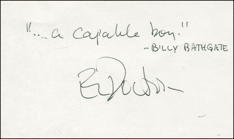 Image 1 for E. L. (Edgar Lawrence) Doctorow - Autograph Quotation Signed - HFSID 294744