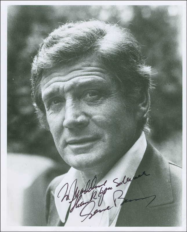 Image 1 for Gene Barry - Autographed Inscribed Photograph - HFSID 294851