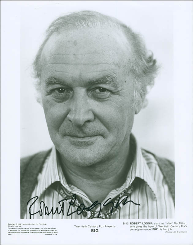 Image 1 for Robert Loggia - Printed Photograph Signed In Ink - HFSID 294861