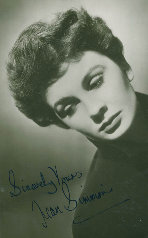 Image 1 for Jean Simmons - Autographed Signed Photograph - HFSID 294875