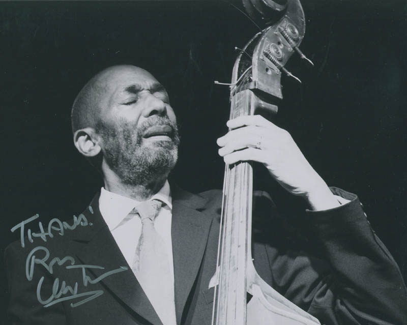 Image 1 for Ron Carter - Autographed Signed Photograph - HFSID 294938