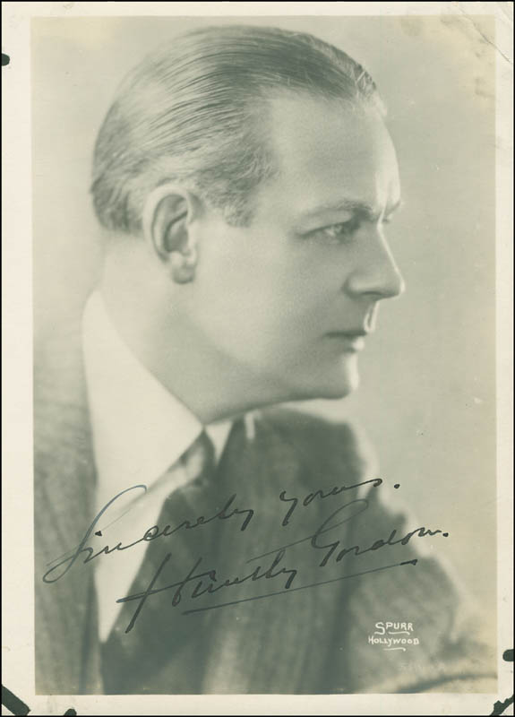 Image 1 for Huntley Gordon - Autographed Signed Photograph - HFSID 294975