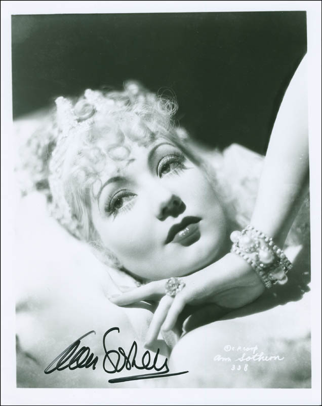 Image 1 for Ann Sothern - Autographed Signed Photograph - HFSID 295006