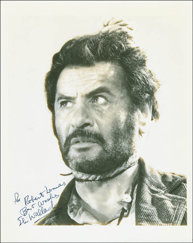 Image 1 for Eli Wallach - Autographed Inscribed Photograph - HFSID 295035