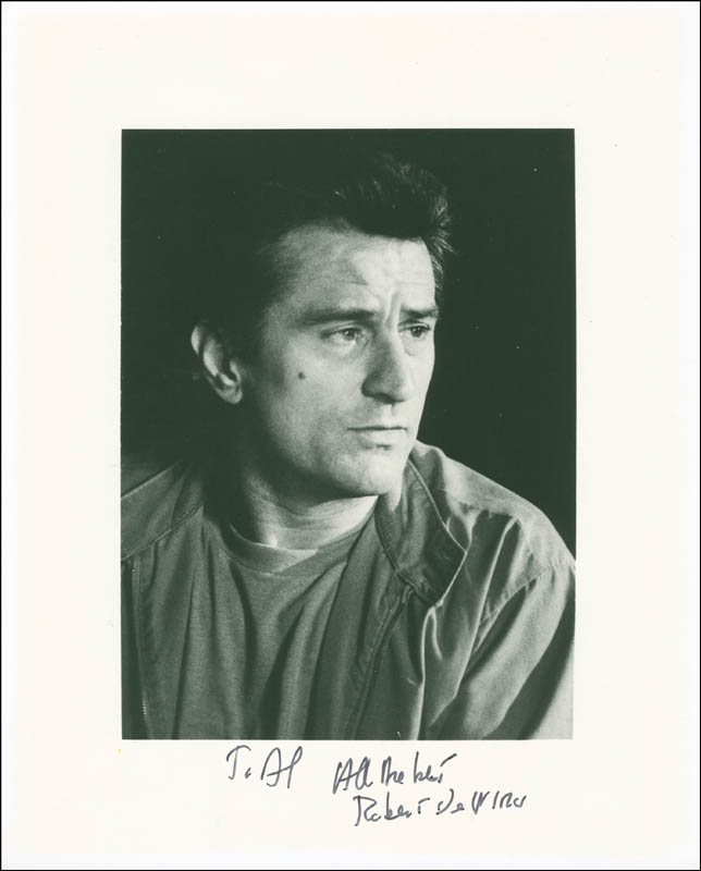 Image 1 for Robert Deniro - Autographed Inscribed Photograph - HFSID 295039