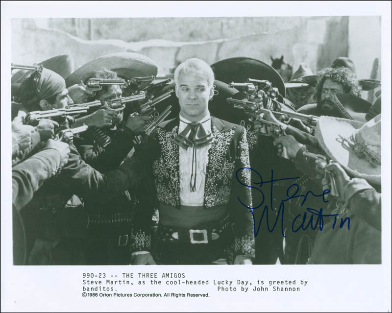 Image 1 for Steve Martin - Autographed Signed Photograph - HFSID 295051