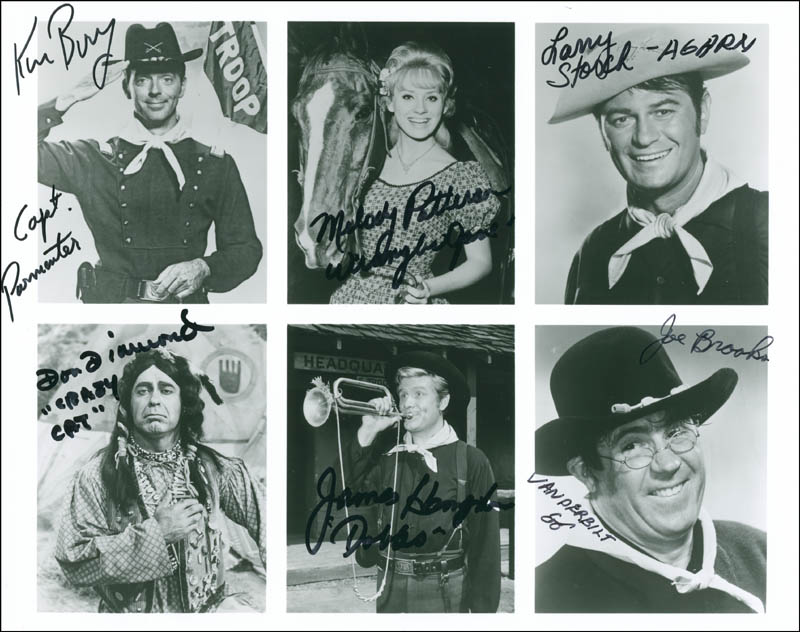 Image 1 for F Troop TV Cast - Autographed Signed Photograph with co-signers - HFSID 295114
