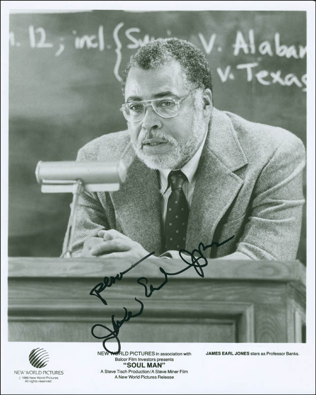 Image 1 for James Earl Jones - Autographed Signed Photograph - HFSID 295118