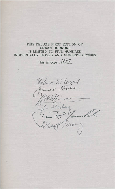 Image 1 for Ray Bradbury - Book Signed with co-signers - HFSID 295141