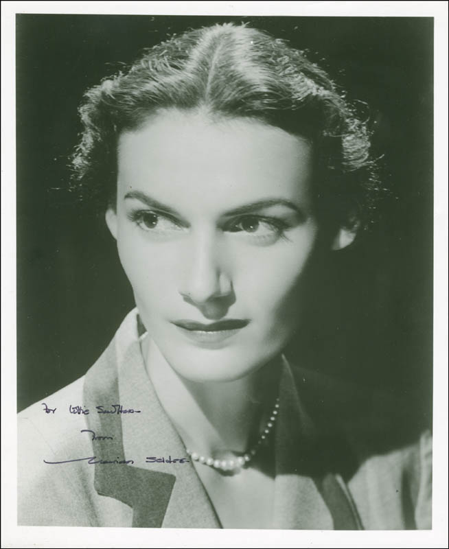 Image 1 for Marian Seldes - Autographed Inscribed Photograph - HFSID 295362
