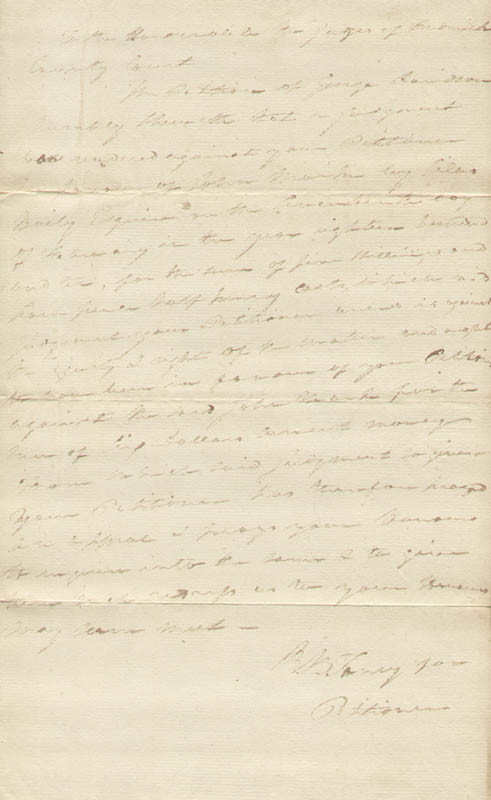 Image 1 for Chief Justice Roger B. Taney - Autograph Document Twice Signed - HFSID 295410