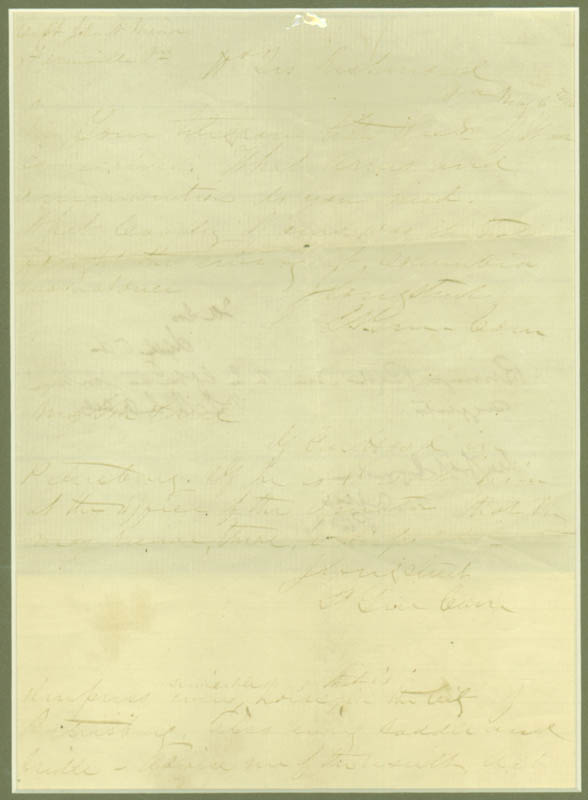 Image 3 for Lt. General James 'Lee'S War Horse' Longstreet - Autograph Document Signed Three Times 05/05/1863 - HFSID 295423