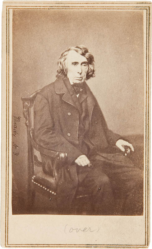 Image 3 for Chief Justice Roger B. Taney - Autographed Signed Photograph - HFSID 295426