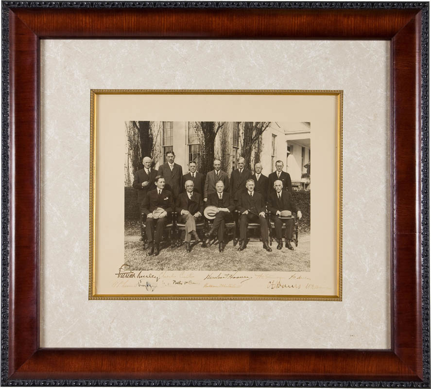 Image 1 for President Herbert Hoover - Autographed Signed Photograph with co-signers - HFSID 295427