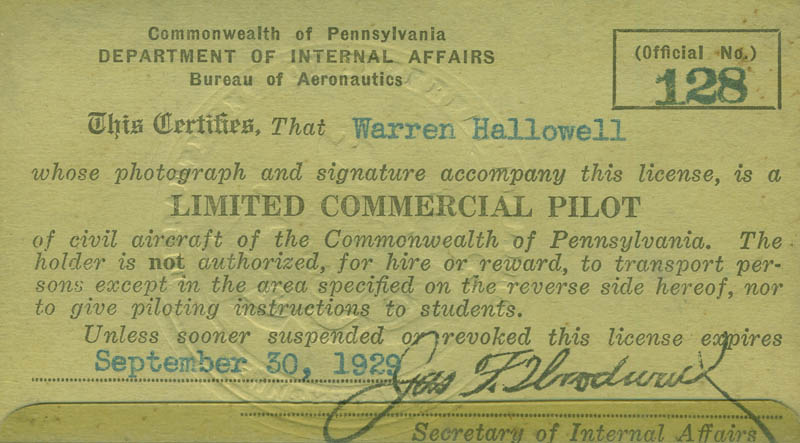 Image 4 for Orville Wright - Document Signed 04/15/1904 co-signed by: Warren Hallowell, J. Carroll Cone, Robert R. Reining - HFSID 295437