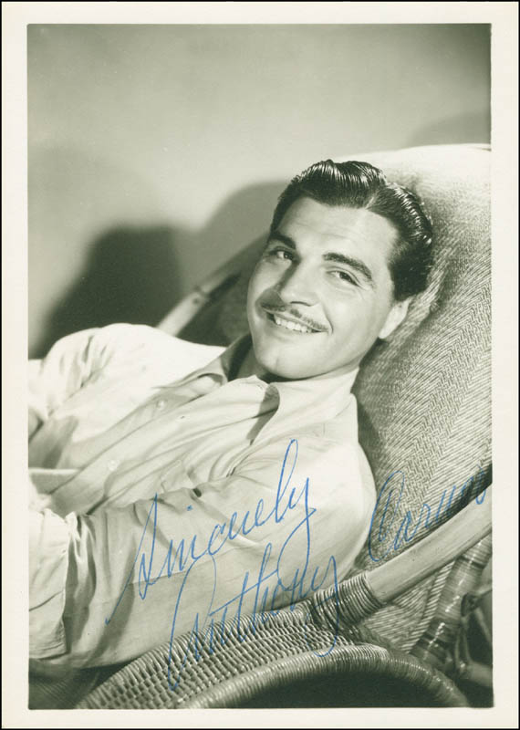 Image 1 for Anthony Caruso - Autographed Signed Photograph - HFSID 295706