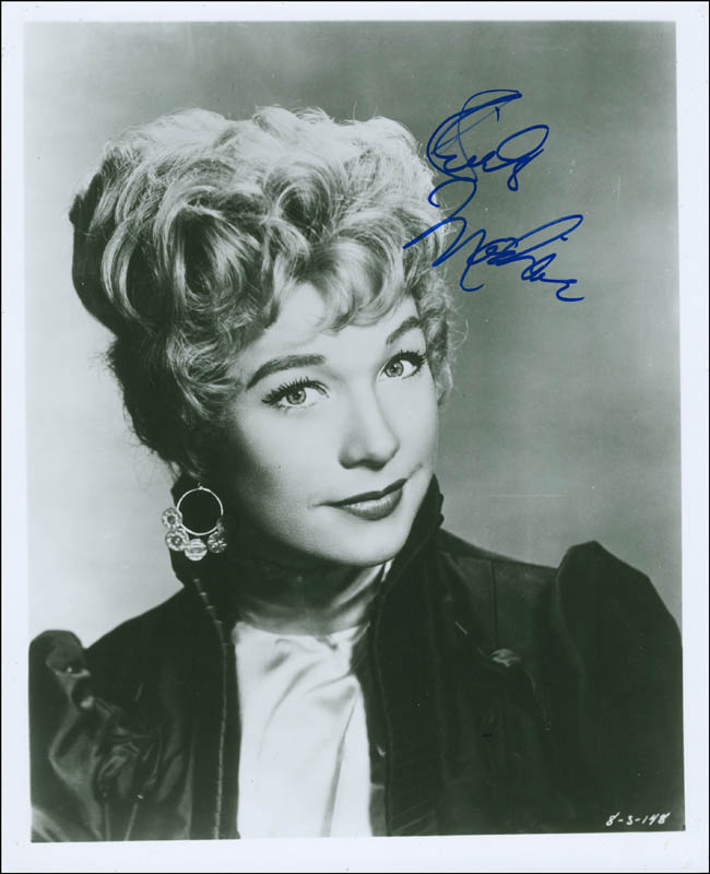 Image 1 for Shirley Maclaine - Autographed Signed Photograph - HFSID 295719
