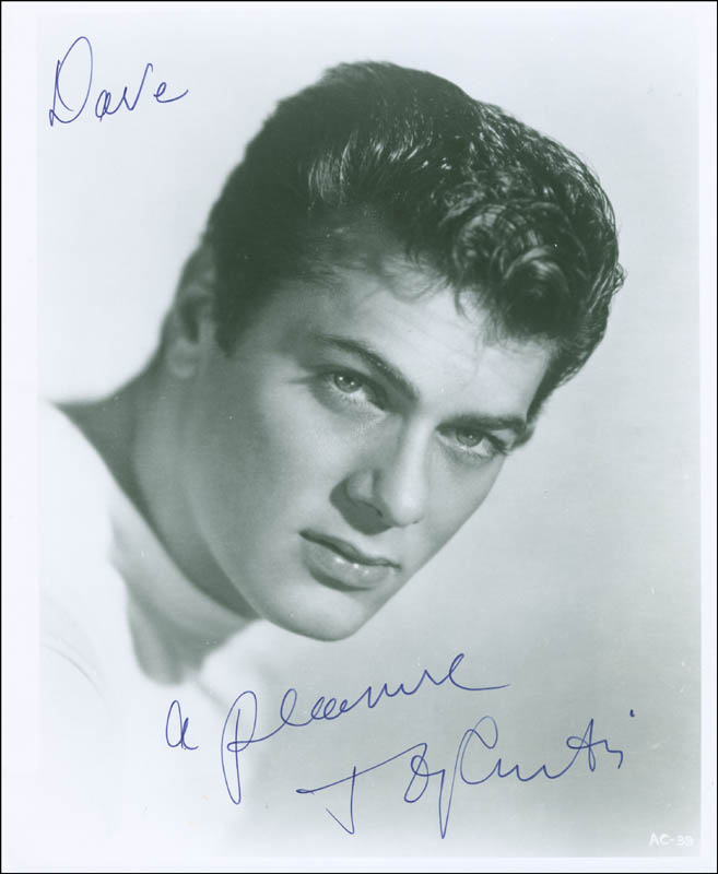Image 1 for Tony Curtis - Autographed Inscribed Photograph - HFSID 295762
